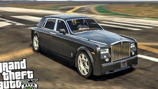 Rolls Royce Phantom - GTA 5 PC CRASH TESTING