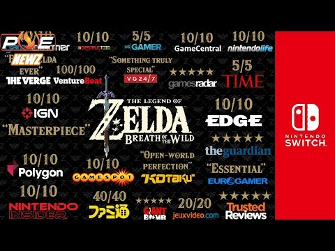 Nintendo Switch - Zelda: Breath of the Wild Becomes Legendary! 98% Metacritic | PE NewZ