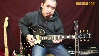 E-Guitar - Solo 04 - Tay trái bấm nốt cơ bản