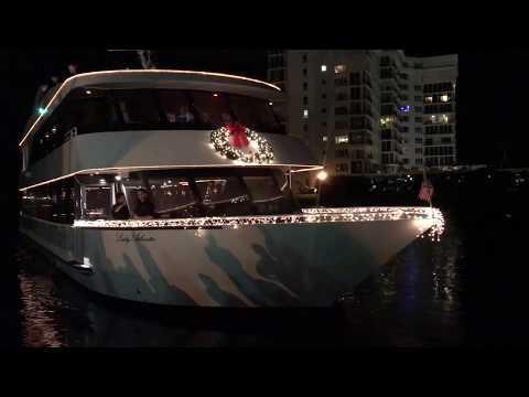 Holiday Boat Parade Boynton Beach & Delray Beach, Florida