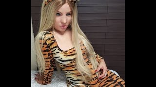 Creafx Silicone Female Mask with Tigress outfit Masking/Unmasking Teaser