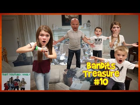 The Bandits Broke Into Our House - Bandits Cash Part 10💰 / That YouTub3 Family
