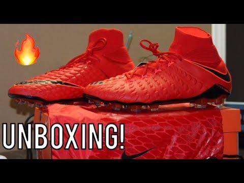 wholesale dealer bd1ef d33ca Nike Hypervenom Phantom 3 DF Fire Pack - Unboxing