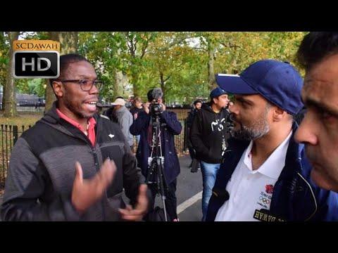 Open eyes, Closed heart! Hashim vs Atheist | Speakers Corner | Hyde Park