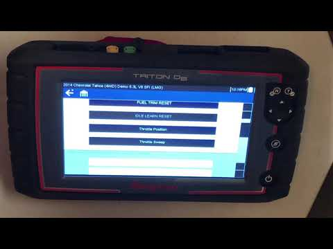 Snap-On Diagnostics Triton D8 Demo and Guided Component Test