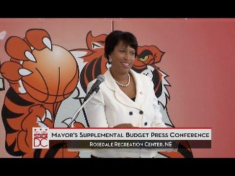 Mayor Bowser Announces Job Training Programs for DC Residents, 9/15/15