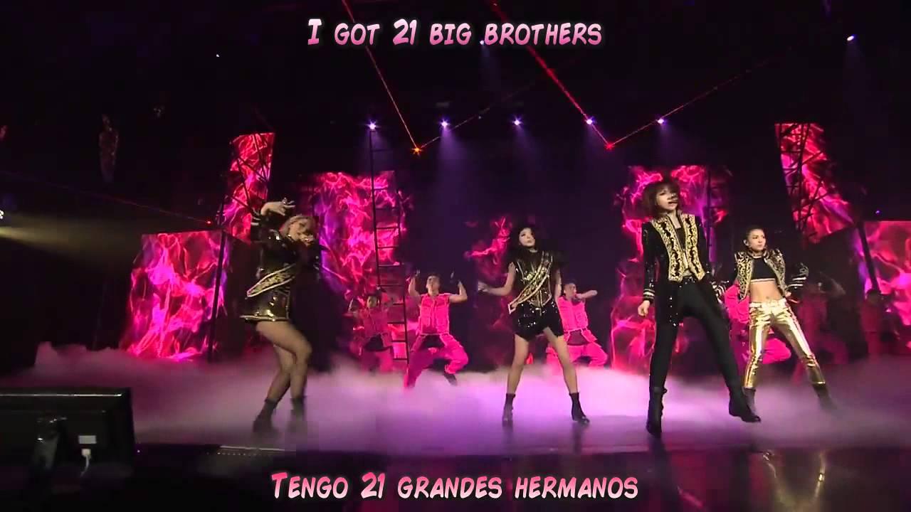 2NE1 - 'CRUSH' LIVE PERFORMANCE [Sub Español + Romanization]