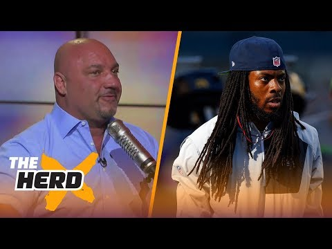 Jay Glazer with the story behind Richard Sherman signing with the 49ers | THE HERD