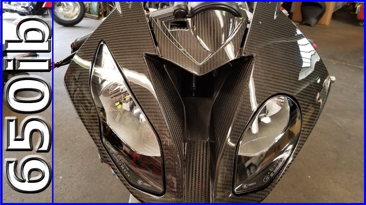 033DPV4MATT Carbonworld Motorschutz Carbon matt für Ducati Panigale V4