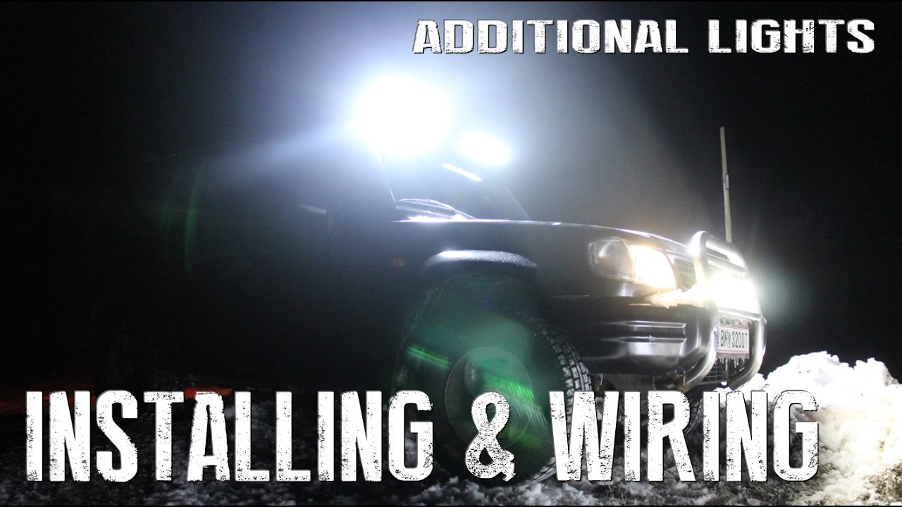 how to wire and install additional lights on your vehicle - diy