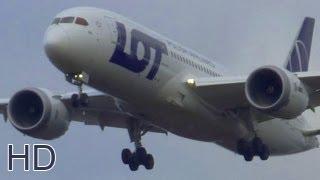 Landing with ATC Dreamliner 787-800 SP-LRA at Krakow airport EPKK. Spotter Life :)
