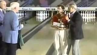 1991 US Open  Pete Weber vs. Mark Thayer - Trophy Drop
