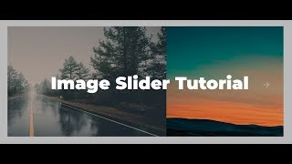 How To Create An Image Slider In HTML, CSS & Javascript