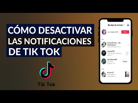 Cómo Evitar o Desactivar las Notificaciones de la Aplicación Tik Tok