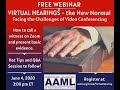 June 4th, 2020, Los Angeles Celebrity Lawyers Christopher C. Melcher and Steven Yoda (Walzer Melcher, LLP) and Steven Mindel and Taylor Wallin (Feinberg, Mindel, Brandt and Klein, LLP) American Academy of Matrimonial Lawyers webinar: Virtual Hearings - the New Normal: Facing the Challenges of Video Conferencing. This webinar addressed basic skills for handling a Virtual Family Law Hearing.