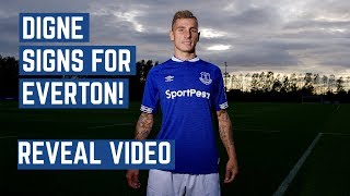 DIGNE SIGNS FOR EVERTON | REVEAL VIDEO