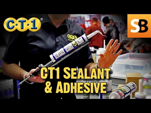 Using CT1 Sealant & Adhesive - Metal, Glass & Wood