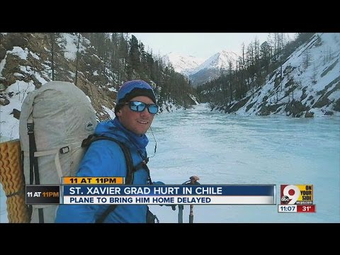 St. Z grad hurt in Chile, trying to get home