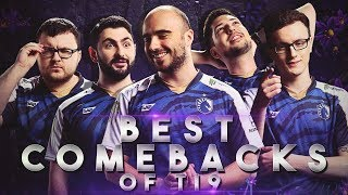 BEST COMEBACKS of TI9 THE INTERNATIONAL 2019 - Dota 2