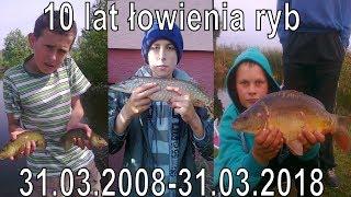 10 lecie łowienia ryb  31.03.2008-31.03.2018-RaFish