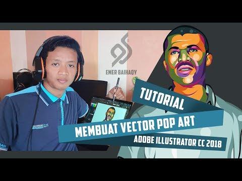 Tutorial Membuat Vector Pop Art Menggunakan Adobe Illustrator CC 2018 by EMER BAIHAQY thumbnail