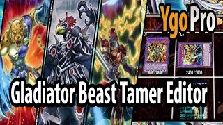 Gladiator Beast Tamer Editor (YgoPro) - Ultimaya Tzolkin for Gladiator Beasts.. =3