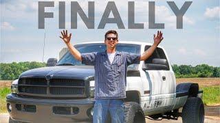 "FINALLY! MY CUMMINS HAD IT'S FIRST ""SUCCESSFUL"" DRIVE!"