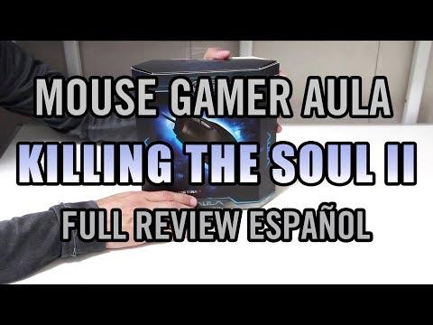 Mouse Gamer AULA KILLING THE SOUL II  Review Full Español