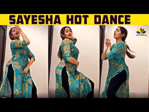 Sayesha Saigal Hot Clasical Dance | Arya | Sayyeshaa | Tamil Cinema News