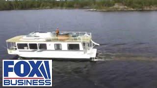 Houseboat rentals boom during the coronavirus pandemic