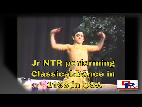 Brilliant Performance, classical dance, Jr. NTR in 1998 in Dallas, Texas