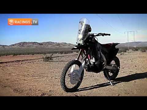 Honda CRF Rally, lista para el Dakar