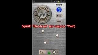 real two way spirit communication via ghost voice gv 1 spirit box app