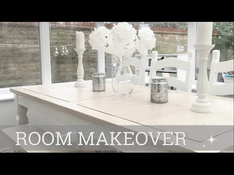 ROOM MAKEOVER | DINING ROOM/CONSERVATORY | CARLY JADE DRAKE