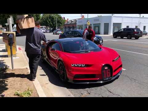2019 Bugatti Chiron Sport loading Beverly Hills 1 of 1 4K