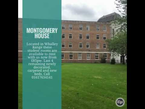 Montgomery House Manchester - Student Rooma to rent