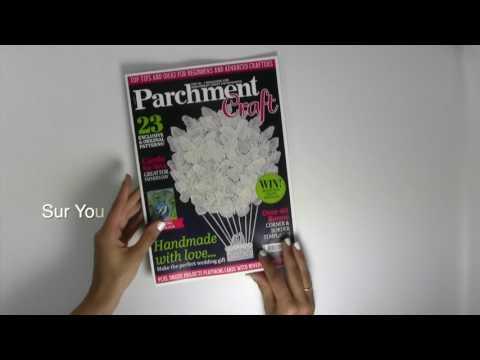 Magazine Pergamano Parchment Craft juillet 2017