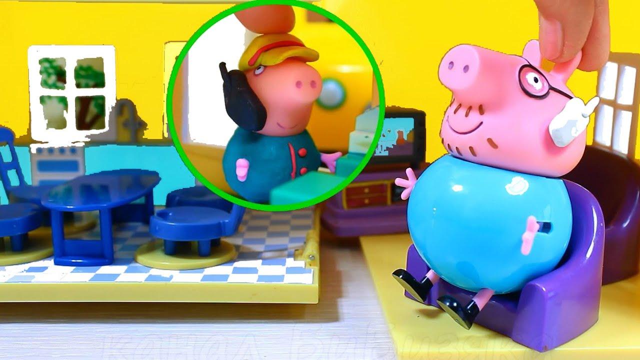 Щенячий патруль и детский садик - Игрушки из мультфильмов - YouTube
