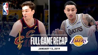 Full Game Recap: Cavaliers vs Lakers   Kuzma Scores 29 Points