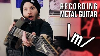 Recording Metal Guitar with an App | Pete Cottrell