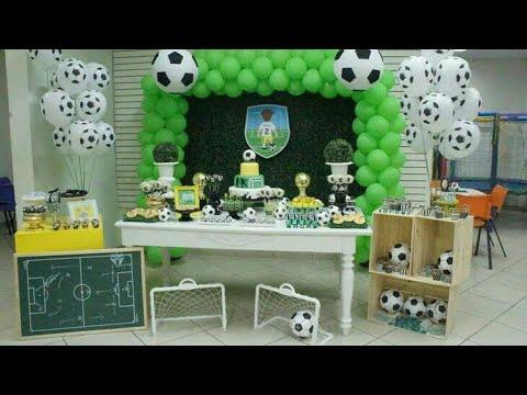 FIESTA DE FÚTBOL 2018 BIRTHDAY FOOTBALL PARTY CHILDRENS IDEAS DECORACION FIESTAS INFANTILES ADORNOS