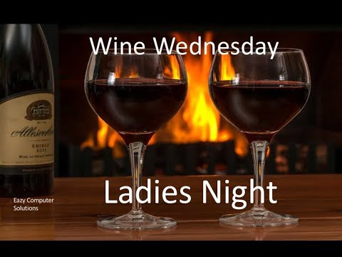 Wine Wednesday Ladies Night W/All Female YouTubers & Average Consumers 1/3/2018