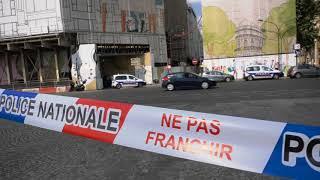 Un braqueur armé retranché dans le chantier de la Samaritaine (16 juillet 2018, Paris)