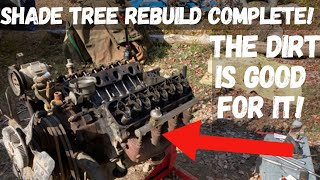 Rebuilding a Ford BIG BLOCK V8 in the woods! Will it run??