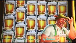 ★oktoberfest!★ heidi's bier haus slot machine bonus win, line hit and more slots!
