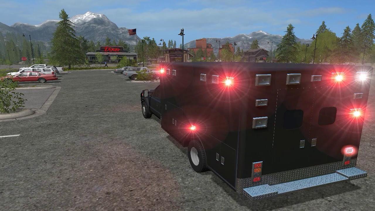 fs17 secret service ambulance edit