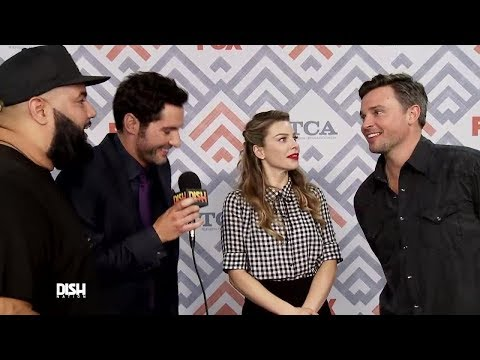 THINGS GET SPOOKY WITH THE CAST OF 'LUCIFER' AND 'THE EXORCIST'
