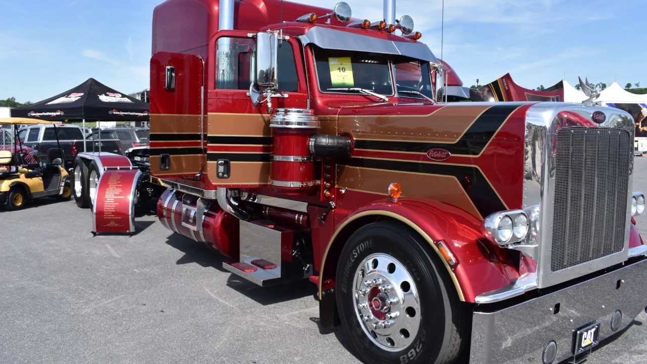 Truck painting company rebuilds Pete 389 to mimic 359 style