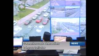 Central Control Room monitors roads & intersections to improve traffic flow in Kuwait