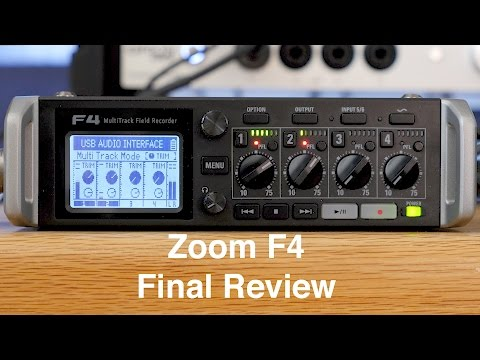 Zoom F4 Audio Recorder Final Review